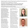 Exploring the role of food and nutrition for women in recovery from alcohol and substance misuse