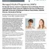 Managed Alcohol Programmes (MAPs)